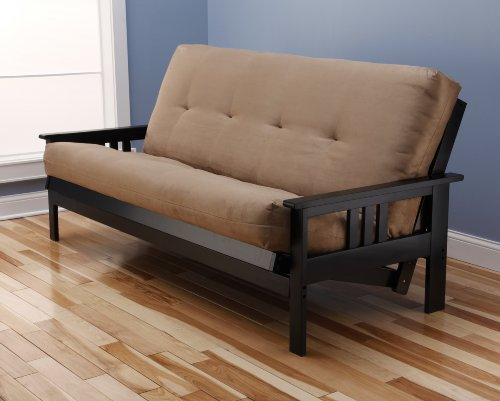 woodbury-full-size-futon-sofa-with-suede-innerspring-mattress-black-painted-hardwood-frame-peat