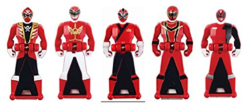 Power Rangers Legacy Red Ranger Key -