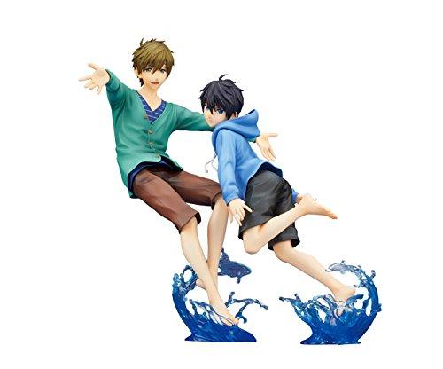 (Hobby Stock High Speed! Free! Starting Days: Haruka Nanase & Makoto Tachibana PVC Figure (1:7 Scale))