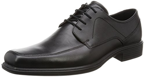 ECCO Men's Johannesburg Gore-Tex Tie Oxford, Black, 47 EU/13-13.5 M US ()