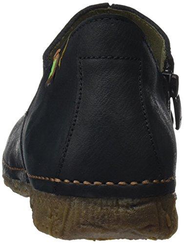 El Naturalista Women's N919 Pleasant Angkor Moccasin Boots Black PQopeA