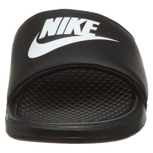 Nike Mens Benassi Bara Göra Det Atletiska Sandal Svart / Vit Svart
