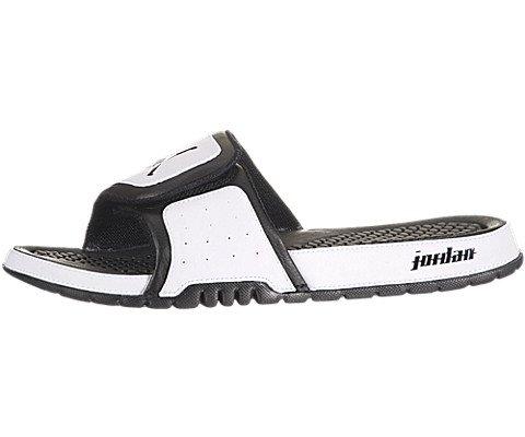 Air Jordan Hydro II - White / Black, 13 D US