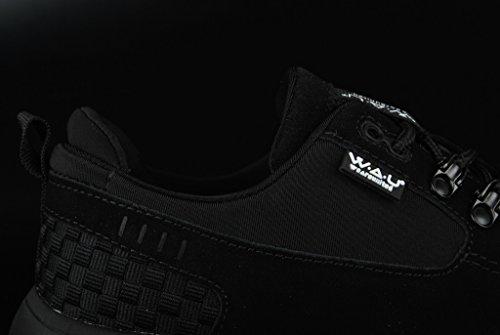WAU Lightwind Mid Black Black Neopren Asfalto
