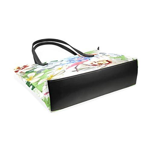 Unique À L'épaule Pour Multicolore Sac Femme Porter Taille Mnsruu qwaRTv8a