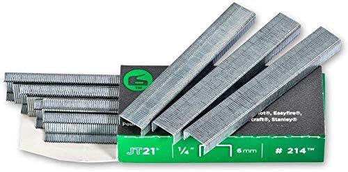 2 Pack Arrow Fastener 276 Genuine JT21//T27 3//8-Inch Staples 1,000-Pack