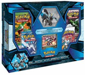 Pokemon Black Kyurem Box w/ Figure, Foil & 4 Black & White Series Booster (Kyurem Box)