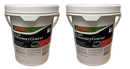 Rutland Castable Cemento Refractario, 25-pound