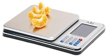 Jata Hogar 759 - Balanza electrónica, dietetica nutricional, 5 kg