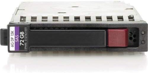 512545-B21 HP 72-GB 6G 15K 2.5 DP SAS 2 Pack