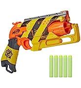 NERF Zombie Strike Hammershot Blaster - Hành động nổ búa kéo lùi, 5 cuộc tấn công th ...