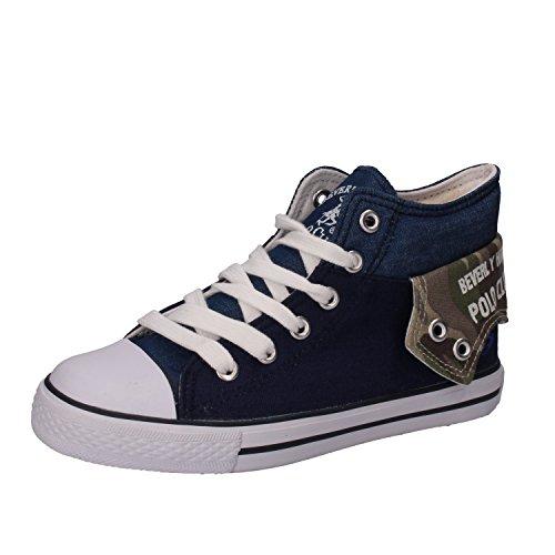 BEVERLY HILLS POLO CLUB Sneakers Bambino Blu Tela