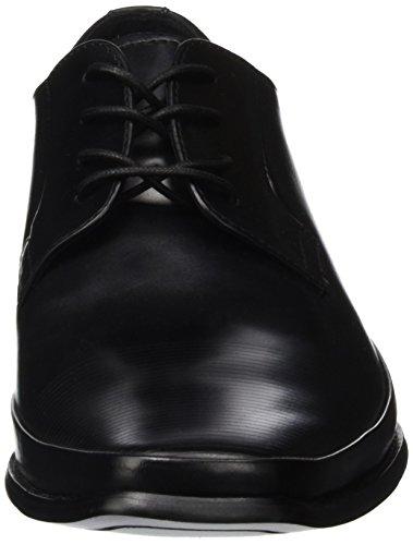 Kenneth Cole Steep Hill, Scarpe Stringate Uomo Nero (Black 001)