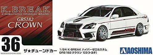 Aoshima 54246 K-BREAK HYPER ZERO CUSTOM GRS182 CROWN /'03 TOYOTA 1//24 Scale Kit
