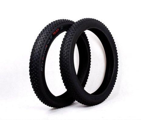 "NEW Wanda 26/"" x 4.0/"" Fat Bicycle Tire All Black P-1215 Bike Tire"