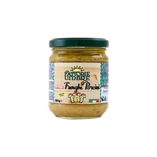 Porcini Mushroom Tapenade by Fattorie Umbre (6.35 ounce)