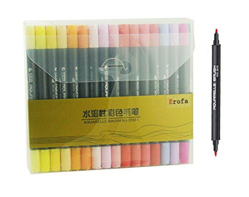 erofa-48-pack-dual-tip-brush-pens-brush-tip-and-fine-tip-water-based-coloring-markers-for-novice-to-