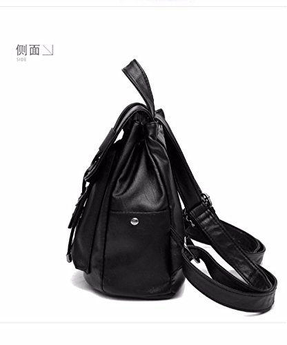Women's Shoulder Soft Shoulder Shoulder Capacity Wristlet Vintage Casual MSZYZ Bags Clutch Many with Small Leather Body PU Cross Pockets Large px0n6dwf4