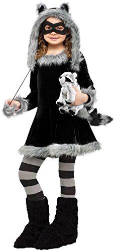 Faerynicethings Child Sweet Raccoon Costume - Large 12-14