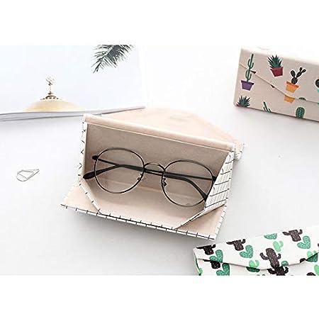 Blu Milopon Custodia Rigida per Occhiali da Sole Astuccio Portatile con Zip Adatto a Occhiali per Uomo Donna