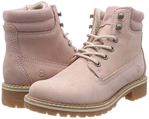 25242 21 lt Tamaris pink Pink Boots 644 Combat Women's 54gWR