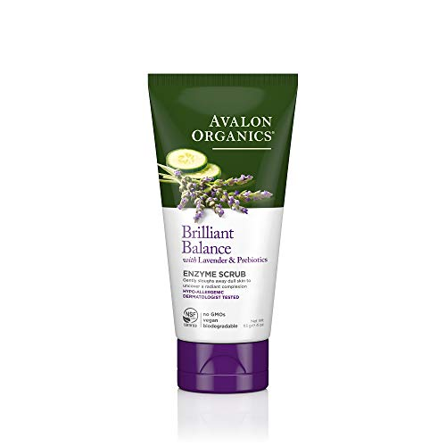 Avalon Organics Brilliant Balance Enzyme Scrub, 4 oz.