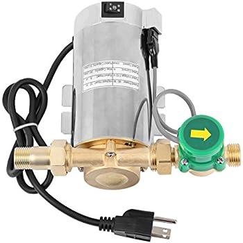Yonntech 110V 90W Electronic Automatic Home Shower Washing Machine Water Booster Pump 87PSI(6 Bar)