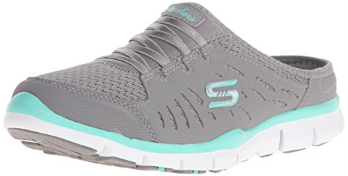 Skechers Sport Women's No Limits Slip-On Mule Sneaker - G...