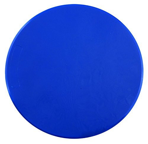 Champion Sports Poly Spot Marker, 9-Inch, Royal Blue (Pack of 12)