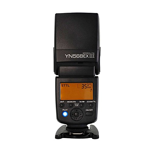 YONGNUO YN568EX III Wireless Master & Slave TTL Flash Speedlite with High Speed Sync for Canon DSLR Cameras