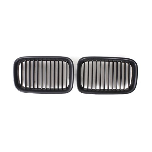 E36 Grill - Matte Black Front Kidney Grille Center Grill For BMW 3 Series E36 1992-1996 1992 1993 19994 1995 1996