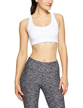 Lorna Jane Women's Comfort Sports Bra, White, XS