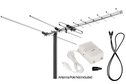 ViewTV VT-27UV Digital Amplified Outdoor / Indoor Attic HDTV Antenna - 150 Miles Range