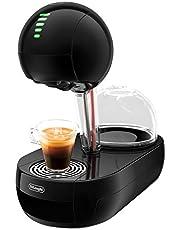 Dolce Gusto De'longhi EDG635.B Cafetera de cápsulas, 15 Bares de presión, 1500 W, 1 Cups, Acero Inoxidable, Negro