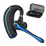 Bluetooth Headset,Wireless Earpiece V4.1Hands Free Microphone for Business,Office,Driving,Work for iPhone/Samsung/Android Cell Phones