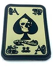 Ace of Spades Biker Airsoft PVC patch klittenband embleem badge