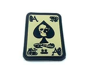 Ace of Spades Motorista Airsoft PVC Parche