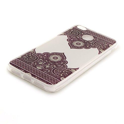 Silicone Transparent De Arrière En Cas Antichoc Résistant Motif De Couverture 4X Peint Protection Hozor Xiaomi Cas Redmi Fit Souple Téléphone Slim TPU Scratch Lace Bord qzCwUgpP