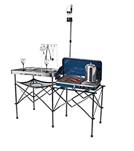 Ozark Trail Deluxe Portable Camp Kitchen Table