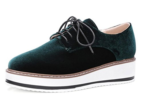 Herbst Schuhe Damenschuhe Aufzug laufen green Student Schuhe Frau Freizeitschuhe gzPqPH