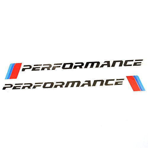 Amazon Com 2pcs New M Performance Logo Side Skirt Stickers Decal