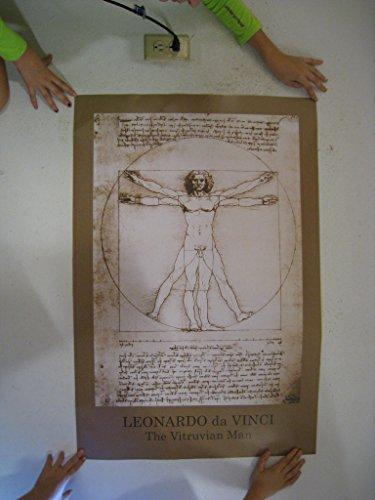 Leonardo Da Vinci Poster DaVinci Anatomy