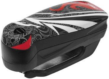 ABUS Detecto 7000 RS1 flame black - Motorcycle brake disc...
