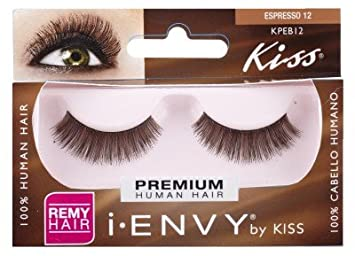 KISS i-ENVY Premium Espresso Brown 12 Lashes (KPEB12)