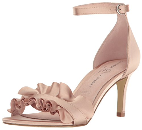 Chinese Laundry Women's Remmy Dress Sandal, Nude Satin, 7.5 M US