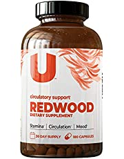 UMZU: Redwood, Nitric Oxide Booster Capsules - 30 Day Supply - Organic N.O. Supplement for Circulatory Support, Increased Stamina, Energy, and Improved Mood