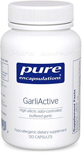 Pure Encapsulations GarliActive High Allicin Odor Controlled