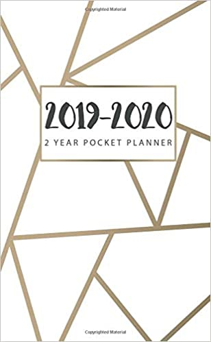 Amazon.com: 2019-2020 2 Year Pocket Planner: Small At a ...