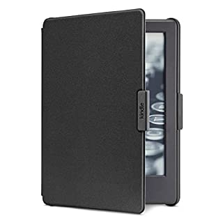 Amazon Cover for Kindle (8th Generation, 2016 - will not fit Paperwhite, Oasis or any other generation of Kindles) - Black
