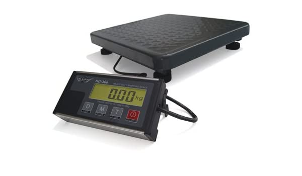 Báscula electrónica plataforma Pro - 136 Kg Capacidad - lectura: 50 G: Amazon.es: Iluminación